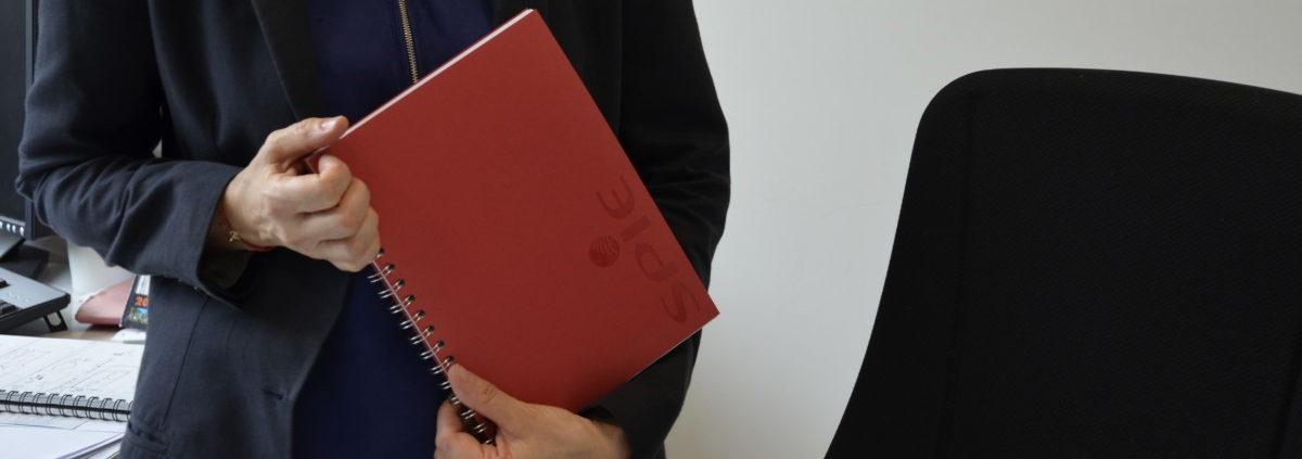cahier personnalise cadeau d'entreprise