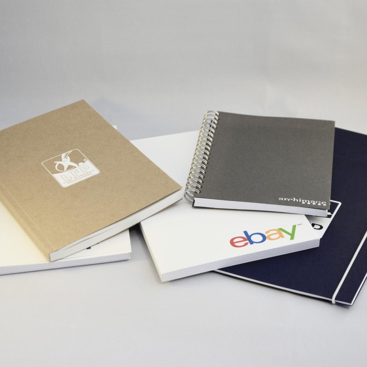 fabricant cahier personnnalisé