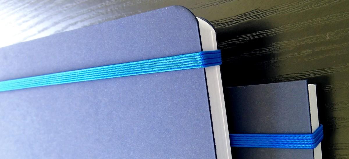 finition des coins d'un cahier