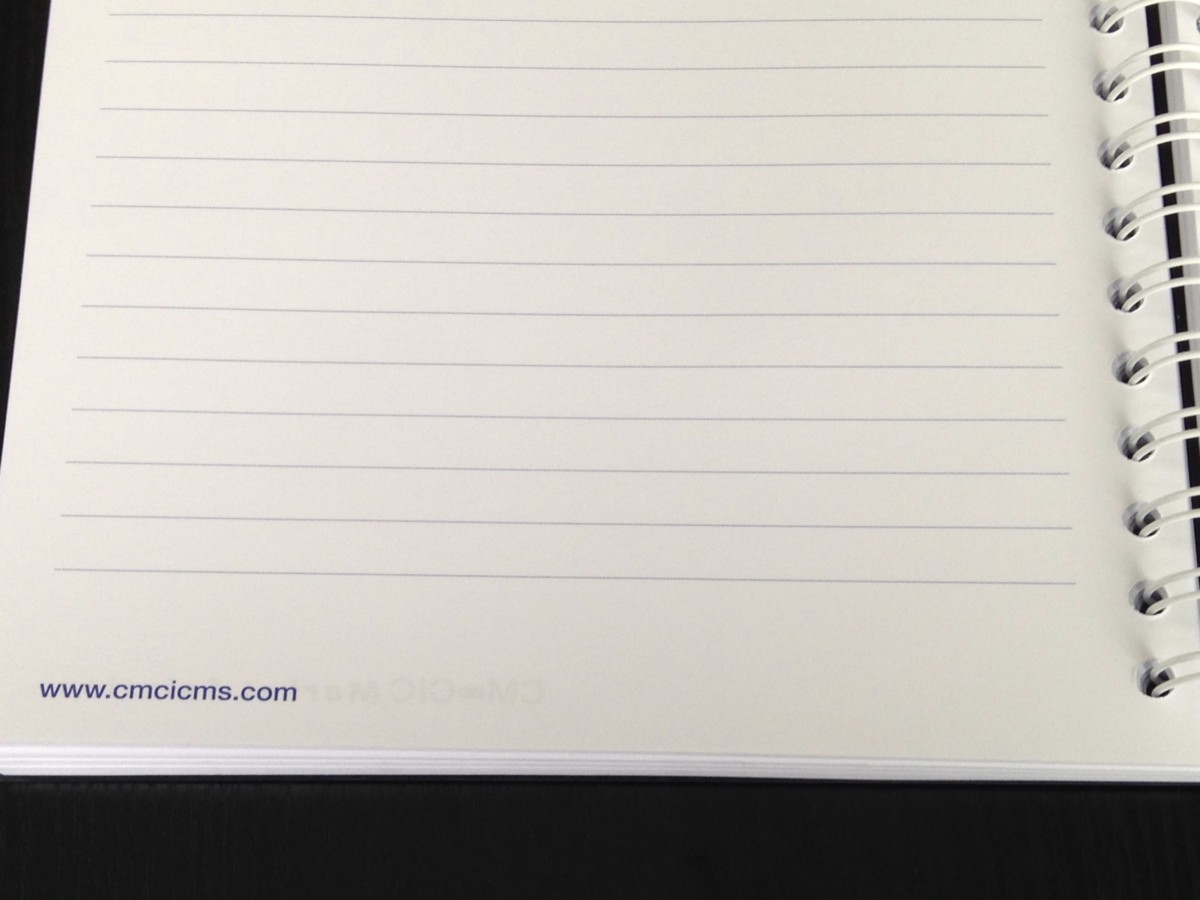 pages de notes personnalisees grand cahier