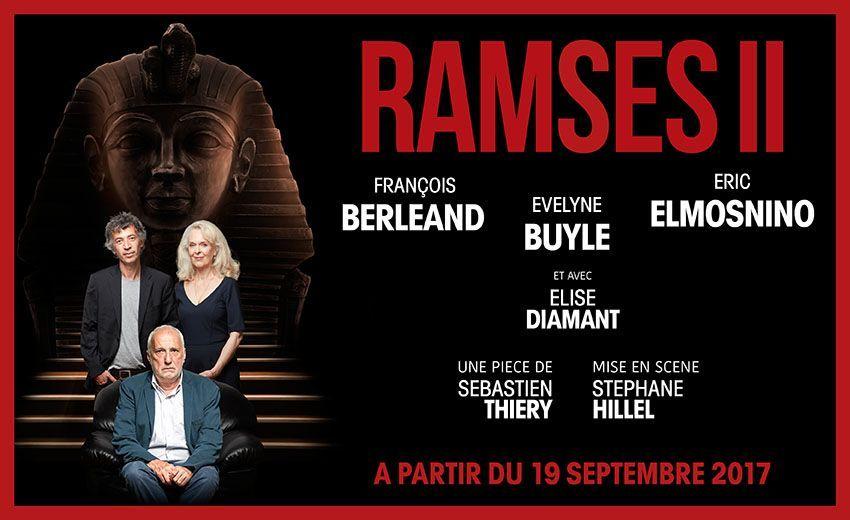 Ramsès II au Théâtre des Bouffes-Parisiens – Paris