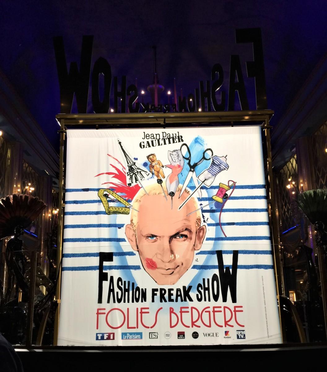 Fashion Freak Show aux Folies Bergère vu par The Concept Book